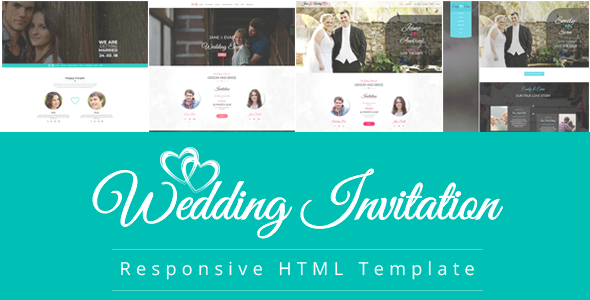 Wedding Responsive HTML Template
