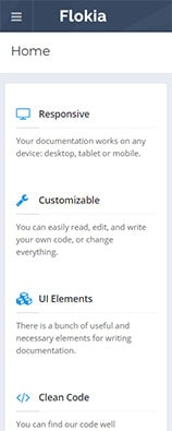 Flokia - API Documentation WordPress Theme