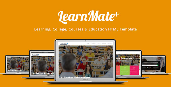 LearnMate - Learning, College, Courses & Education HTML Template